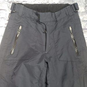 Obermeyer Ski Pants, Black, Size Small